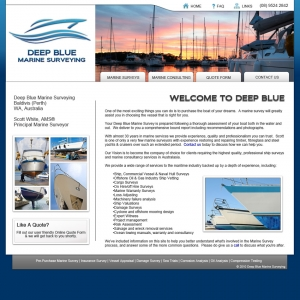 Deep Blue Marine Surveying | Perth