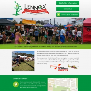 Lennox Community Markets