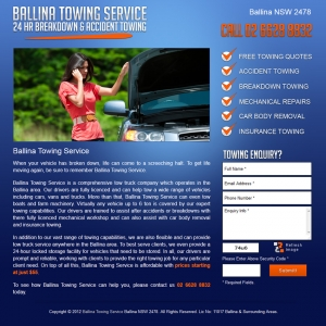 Ballina Towing Services